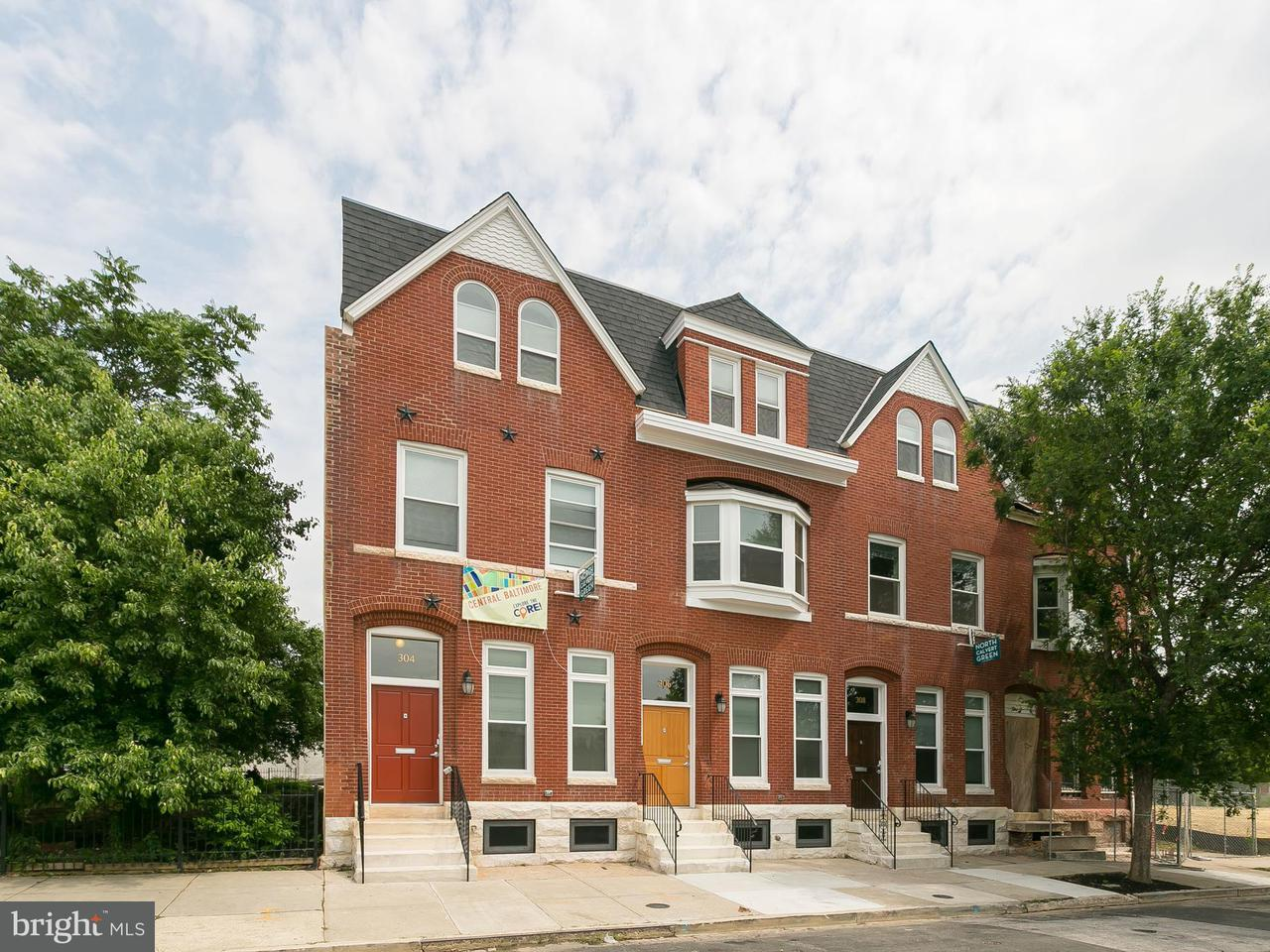 Single Family for Sale at 308 20th St E Baltimore, Maryland 21218 United States