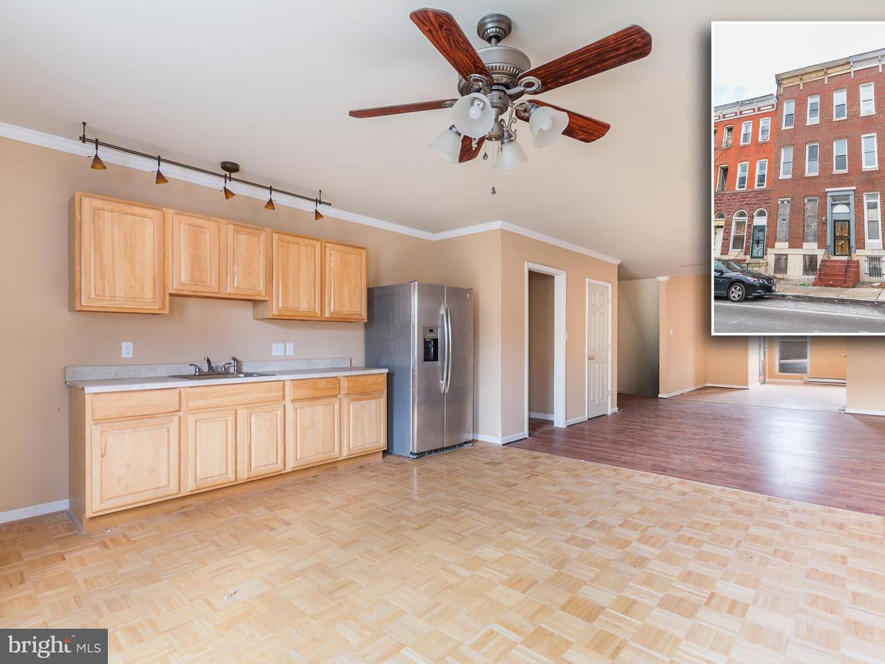 Other Residential for Sale at 1708 Mcculloh St Baltimore, Maryland 21217 United States