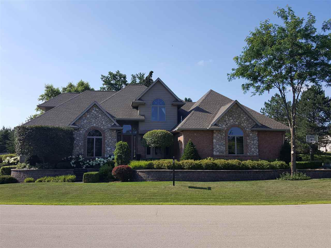View Single-Family Home For Sale at 433 S PINE GROVE LANE, Hortonville, WI