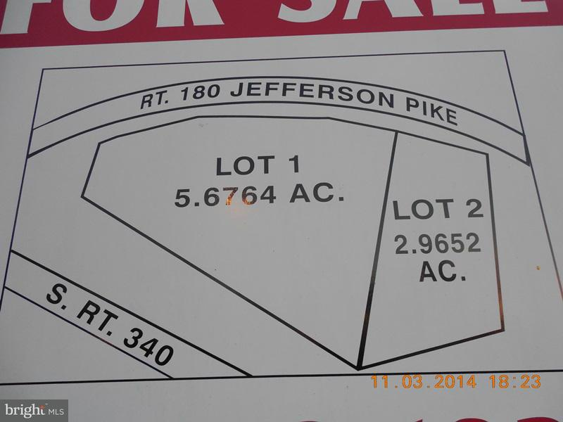 Land for Sale at 2507 Jefferson Pike Knoxville, Maryland 21758 United States