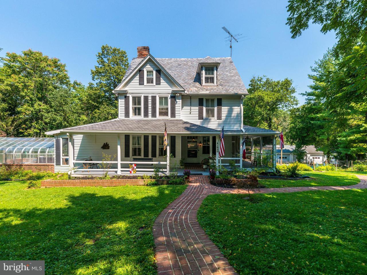 Частный односемейный дом для того Продажа на 1820 Cottage Lane 1820 Cottage Lane Stevenson, Мэриленд 21153 Соединенные Штаты