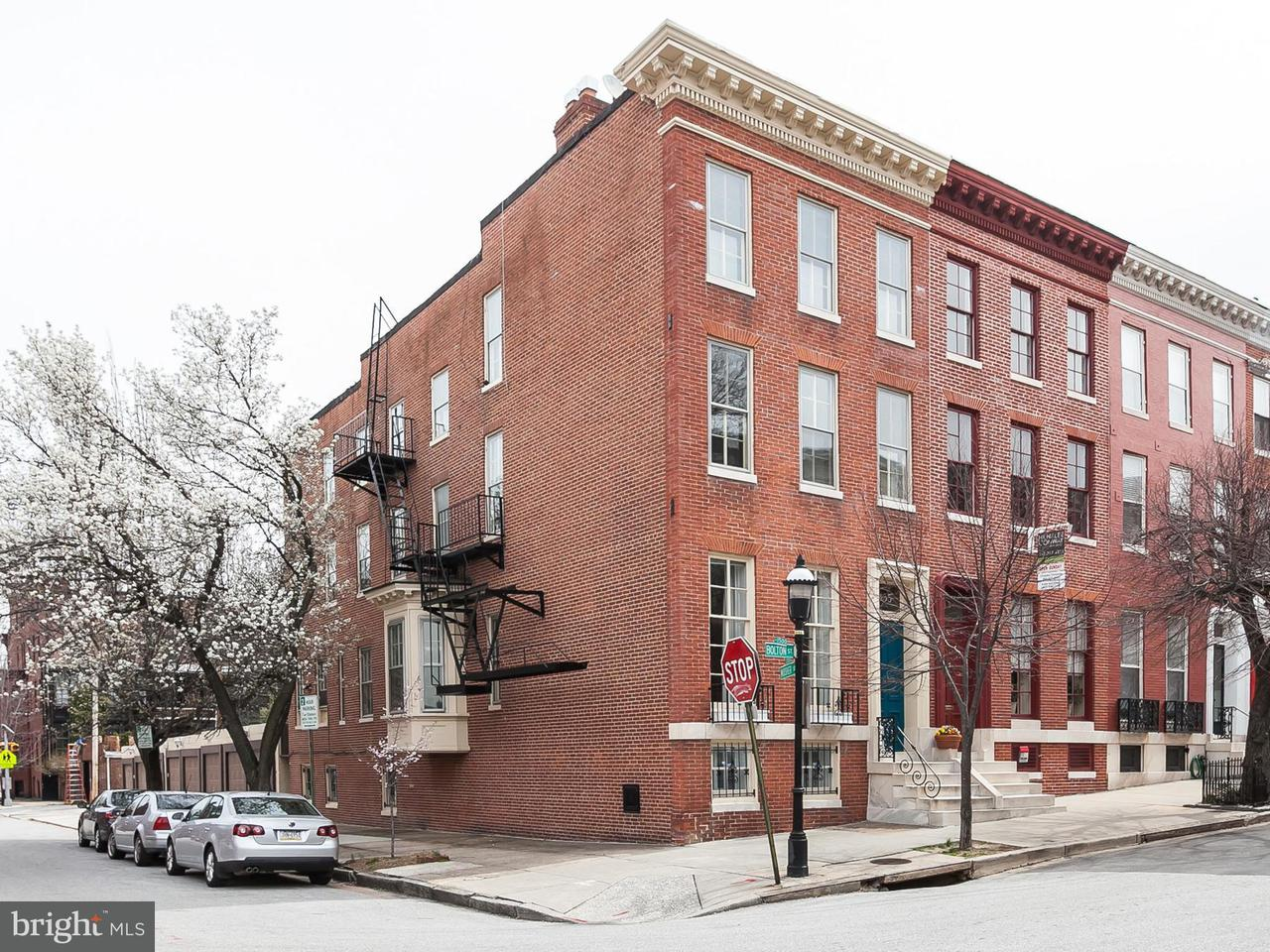 Other Residential for Sale at 1435 Bolton St Baltimore, Maryland 21217 United States