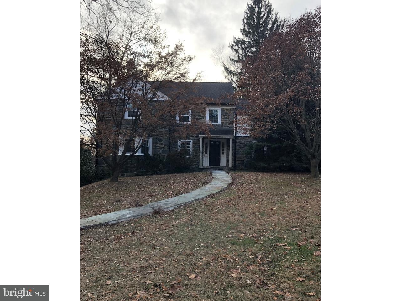 独户住宅 为 出租 在 1137 N WOODBINE Avenue Narberth, 宾夕法尼亚州 19072 美国