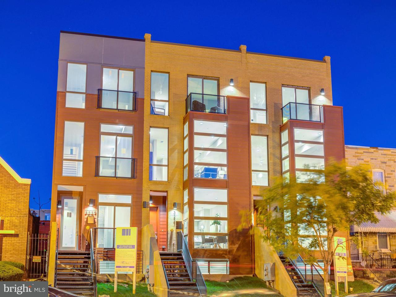 Condominium for Sale at 3227 Sherman Ave Nw #One 3227 Sherman Ave Nw #One Washington, District Of Columbia 20010 United States