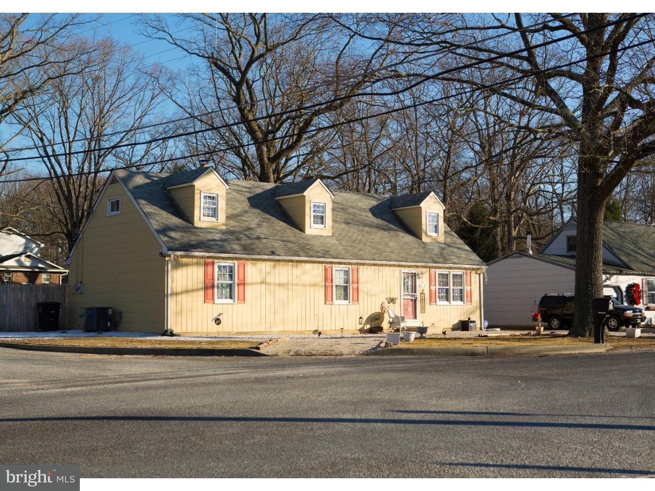 Maison unifamiliale pour l Vente à 811 UNITED STATES #ED Lindenwold, New Jersey 08102 États-Unis