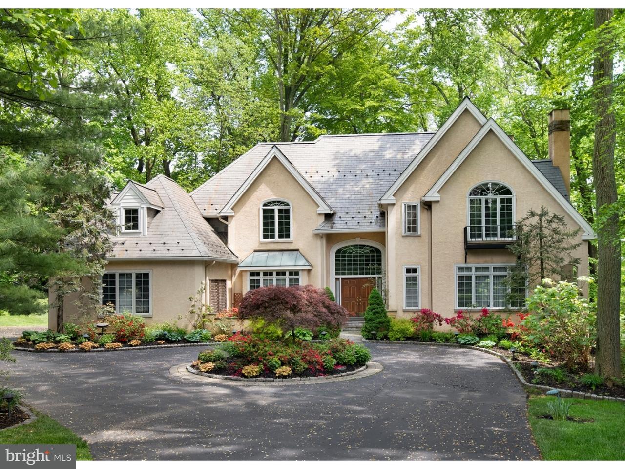 Maison unifamiliale pour l Vente à 607 LONGCHAMPS Drive Devon, Pennsylvanie 19333 États-Unis