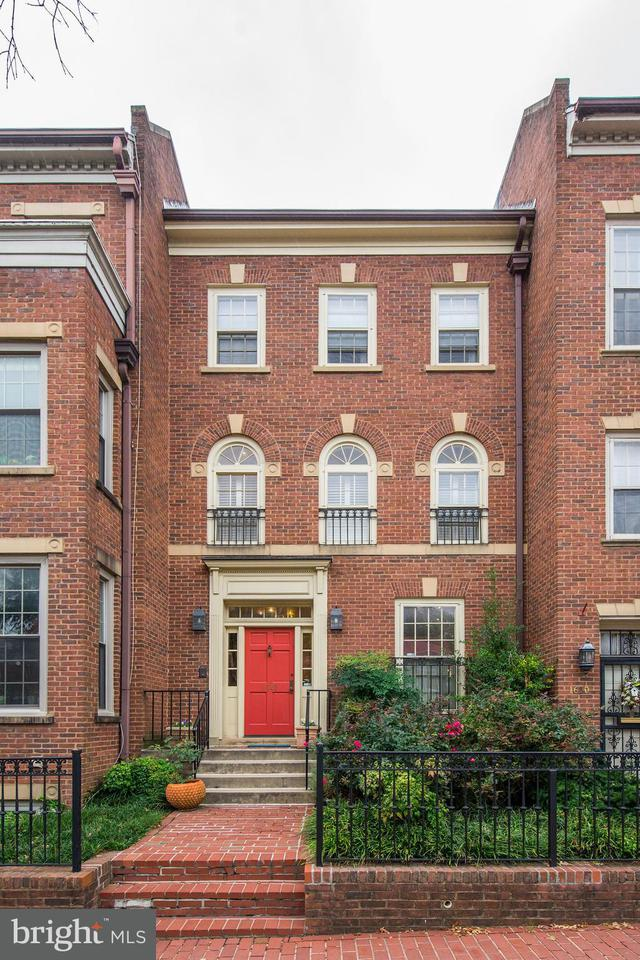 Townhouse for Sale at 1648 35th St Nw 1648 35th St Nw Washington, District Of Columbia 20007 United States