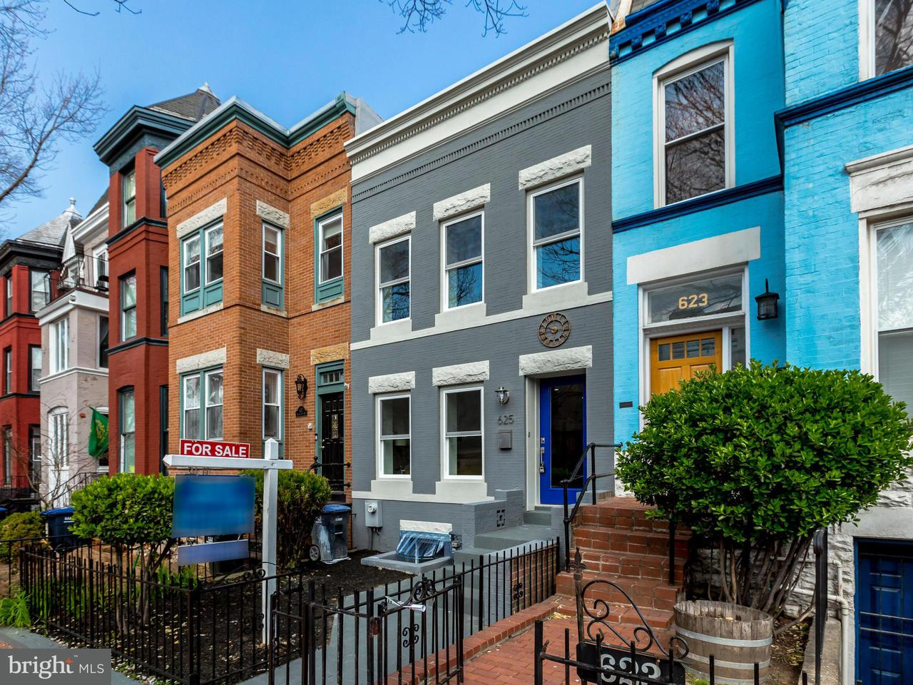 Single Family for Sale at 625 8th St NE Washington, District Of Columbia 20002 United States