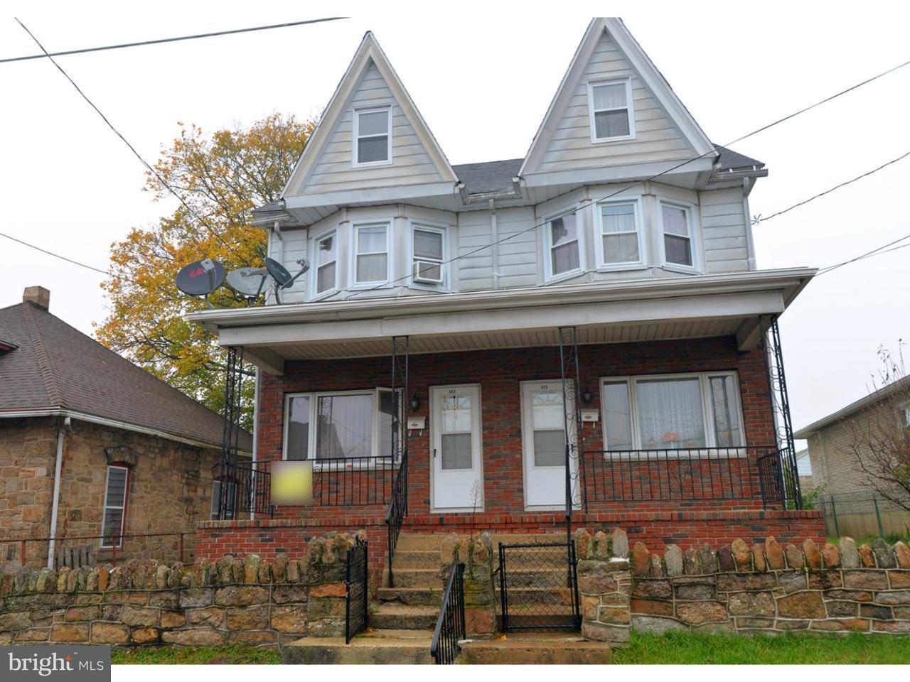 Townhouse for Sale at 303 S NICE Street Frackville, Pennsylvania 17931 United States