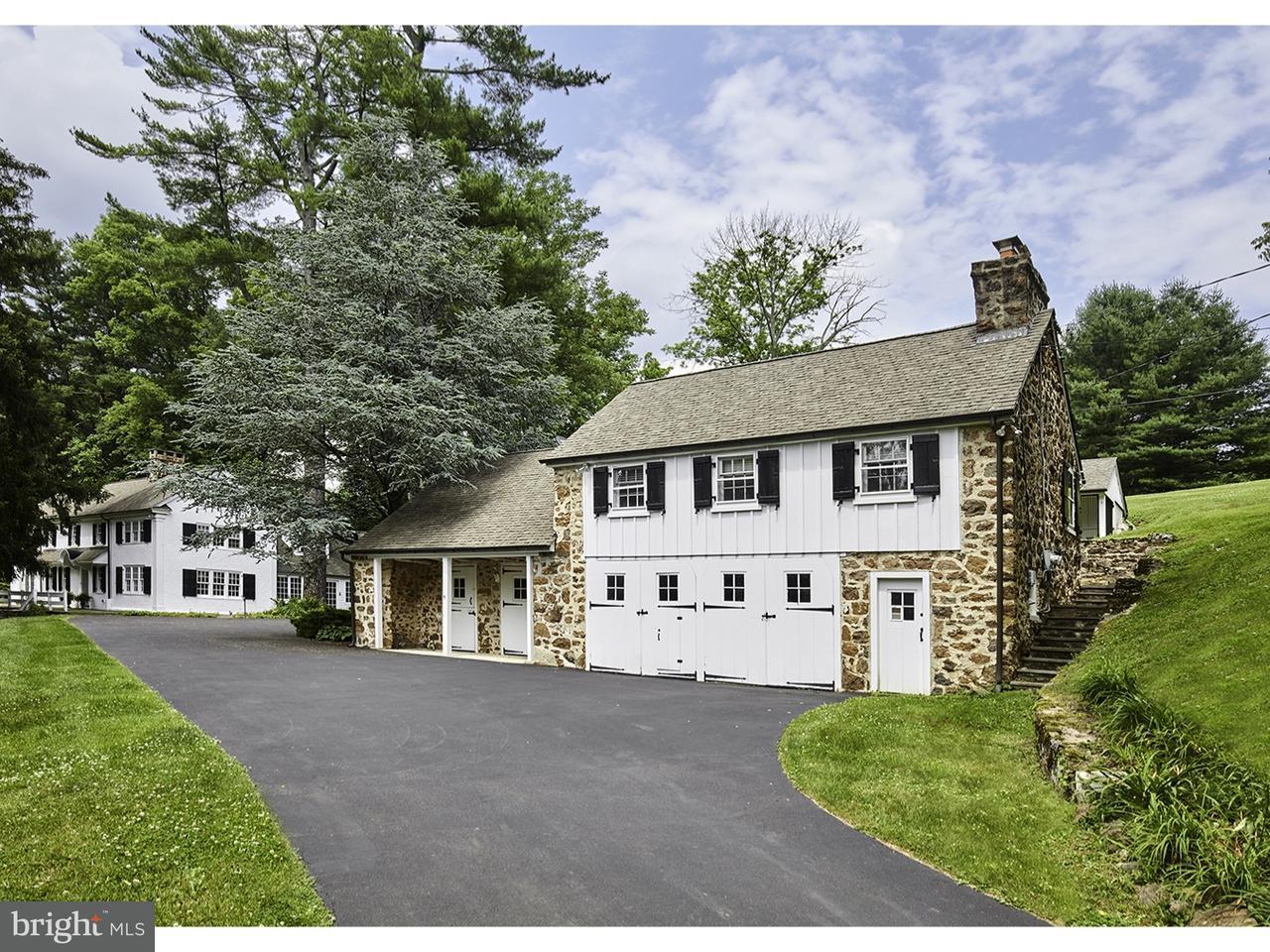 Maison unifamiliale pour l Vente à 2424 GRUBBS MILL Road Berwyn, Pennsylvanie 19312 États-Unis