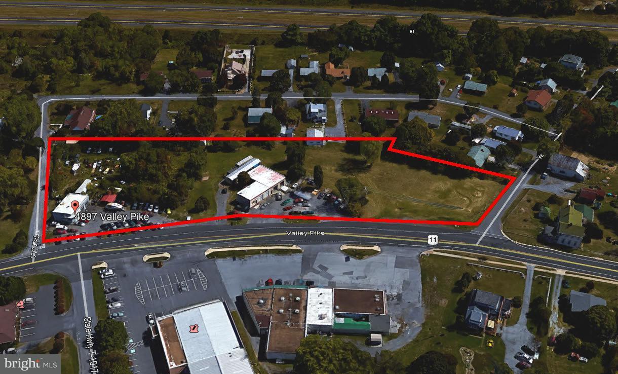 Land voor Verkoop een t Valley Pike Valley Pike Stephens City, Virginia 22655 Verenigde Staten