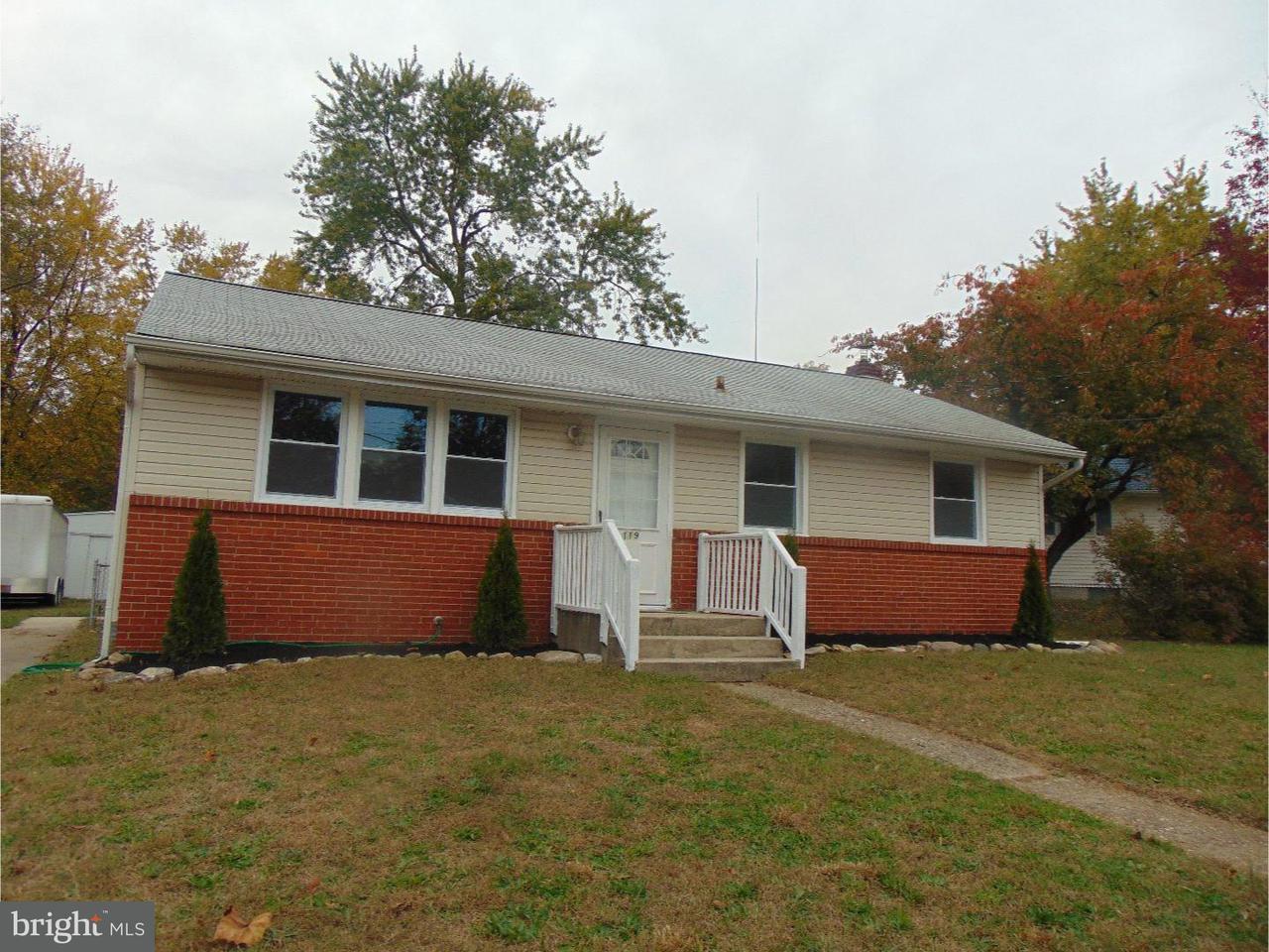 Частный односемейный дом для того Продажа на 119 E MILITARY Drive National Park, Нью-Джерси 08063 Соединенные Штаты