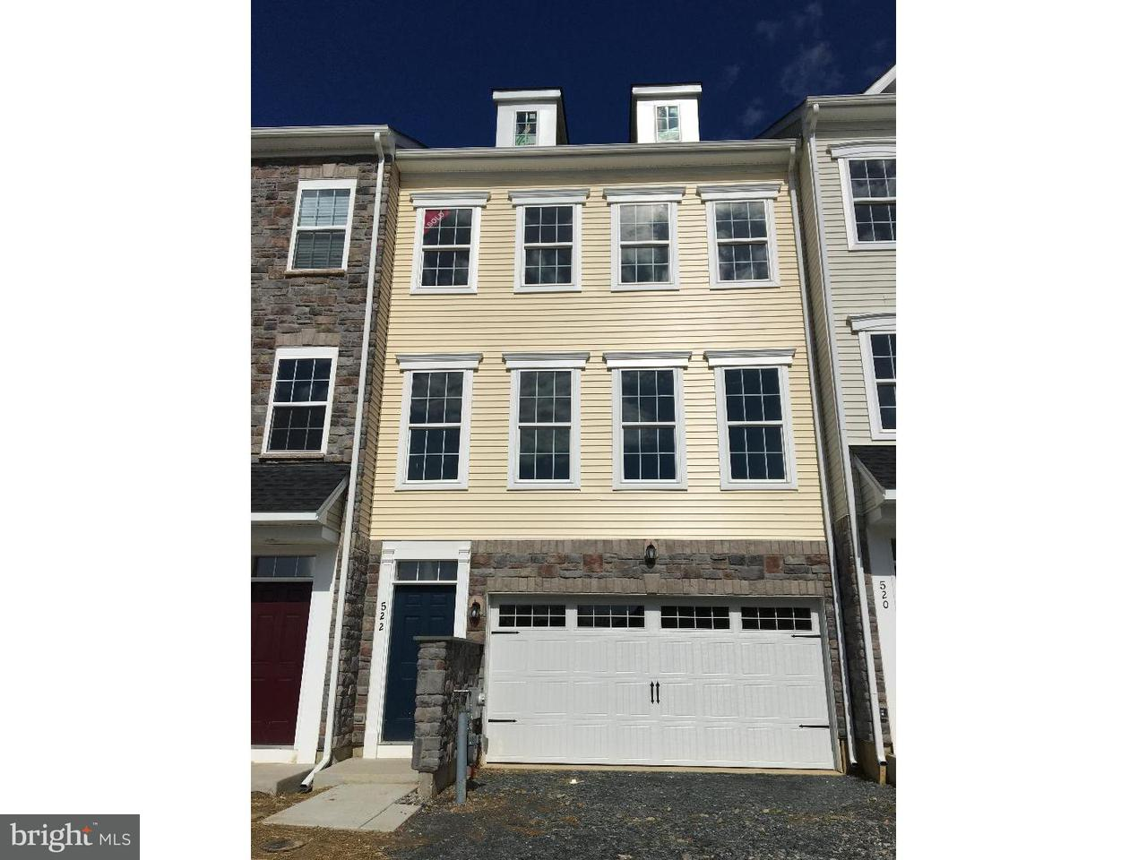 Townhouse for Rent at 522 LIAM Place Bear, Delaware 19701 United States