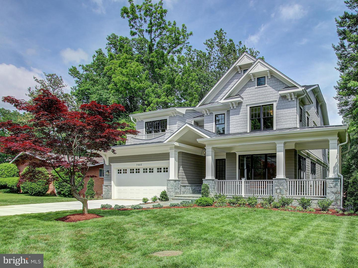 Photo of home for sale at 7005 Kenhill Road, Bethesda MD