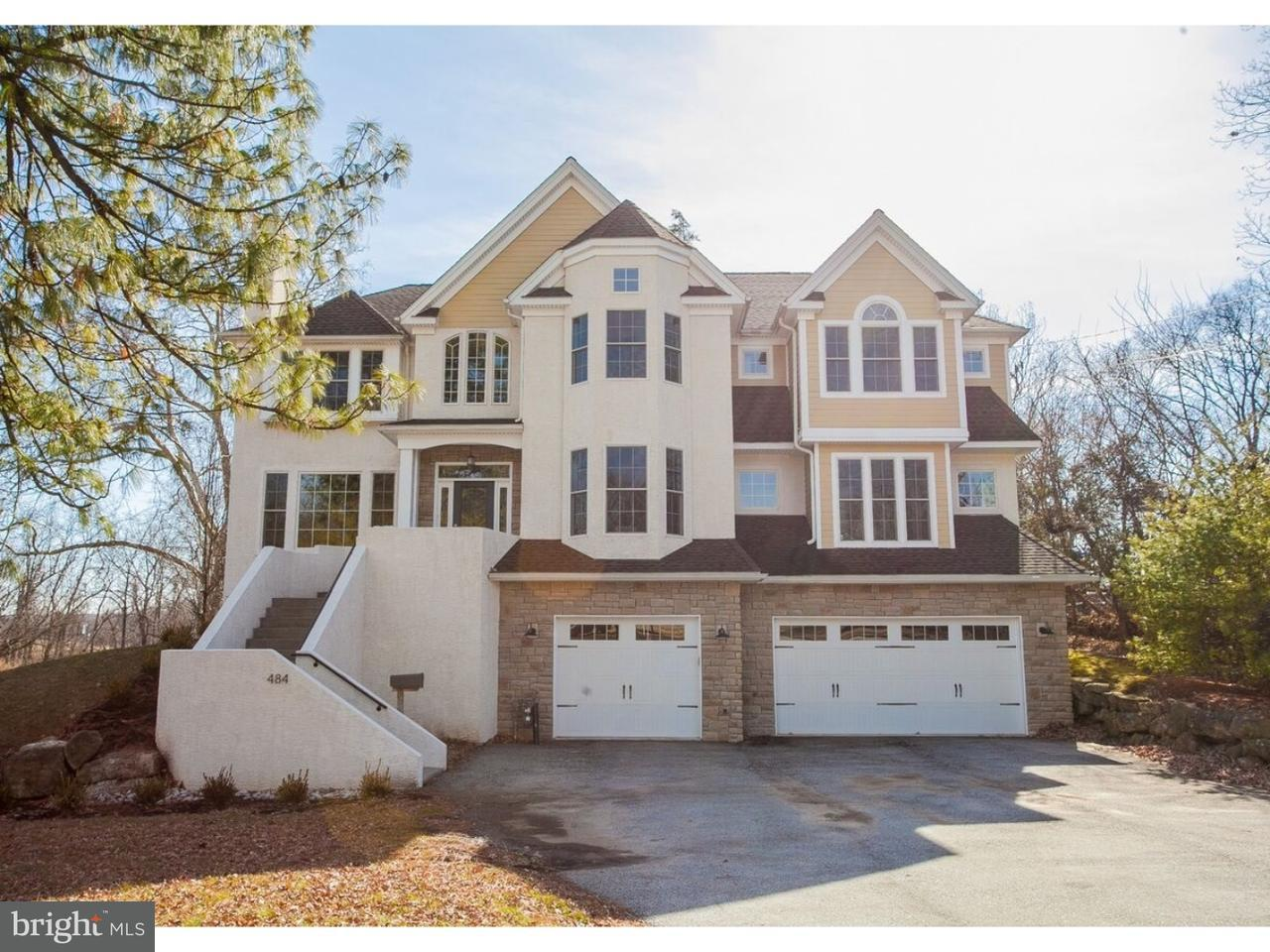 Single Family Home for Sale at 484 KEEBLER Road King Of Prussia, Pennsylvania 19406 United States