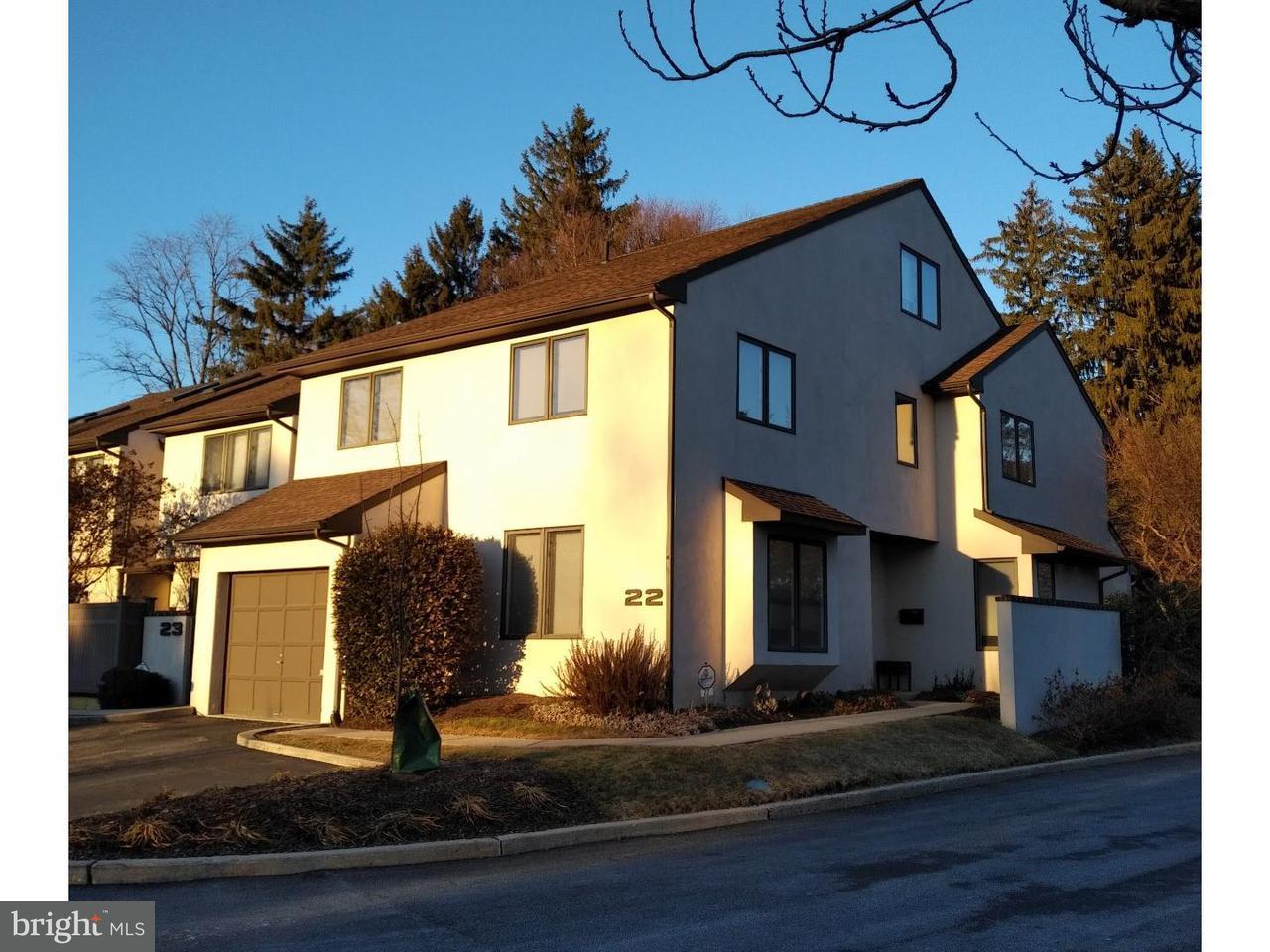 联栋屋 为 出租 在 138 MONTROSE AVE #22 布林莫尔, 宾夕法尼亚州 19010 美国