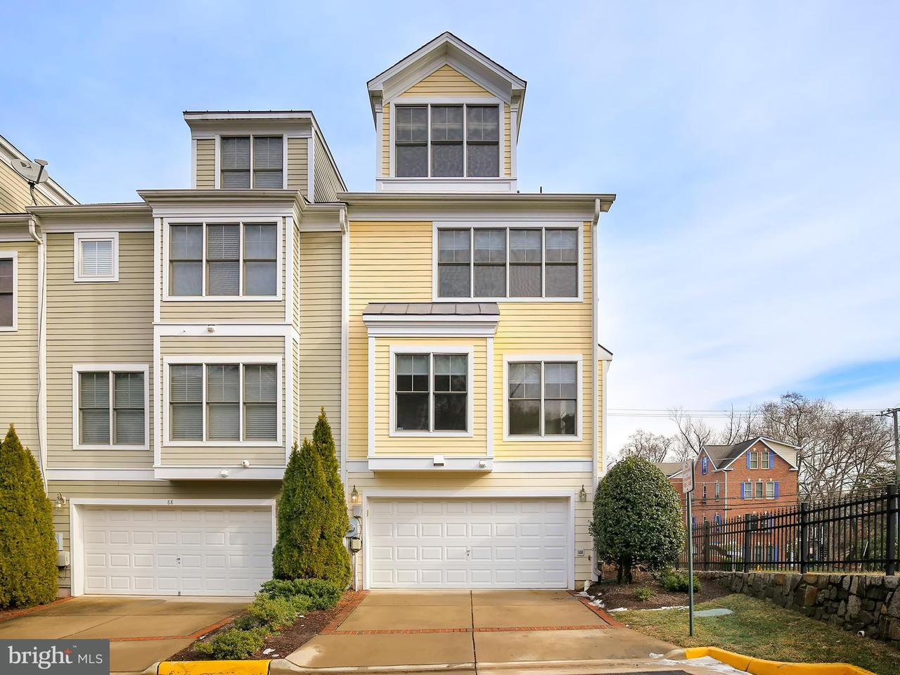 Casa unifamiliar adosada (Townhouse) por un Venta en 86 Washington Street 86 Washington Street Occoquan, Virginia 22125 Estados Unidos