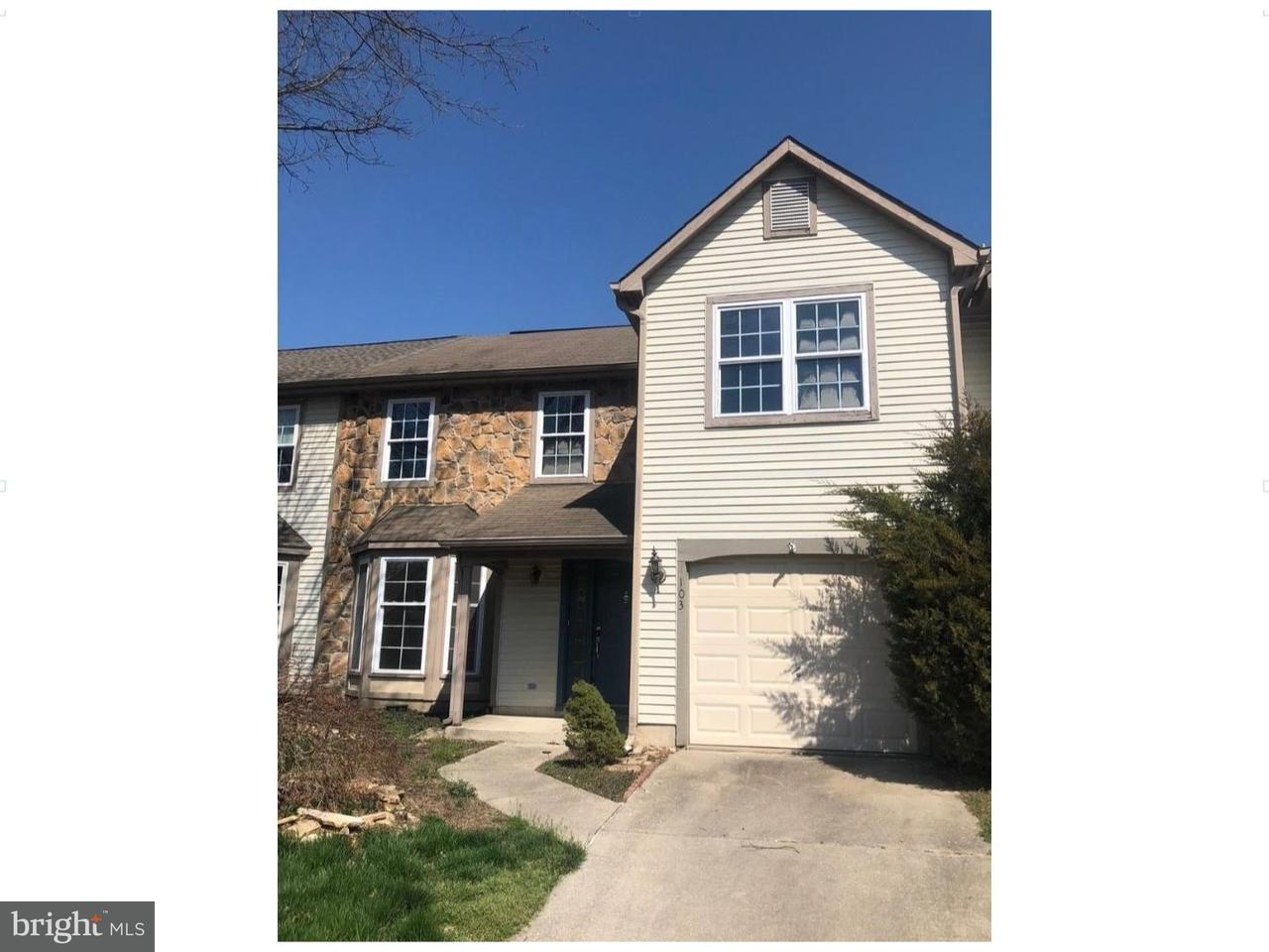 Townhouse for Sale at 103 SANDHURST Drive Mount Laurel, New Jersey 08054 United States