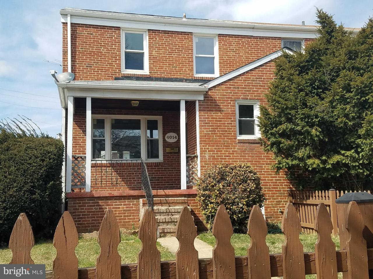 Single Family for Sale at 4014 Labyrinth Rd Baltimore, Maryland 21215 United States