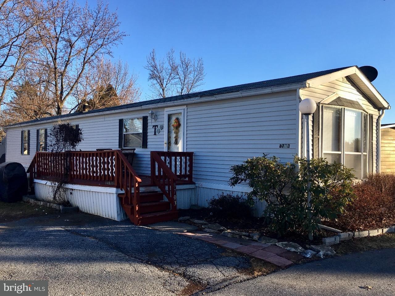 Mobile Homes pour l Vente à 8703 TURKEY RIDGE Road Breinigsville, Pennsylvanie 18031 États-Unis