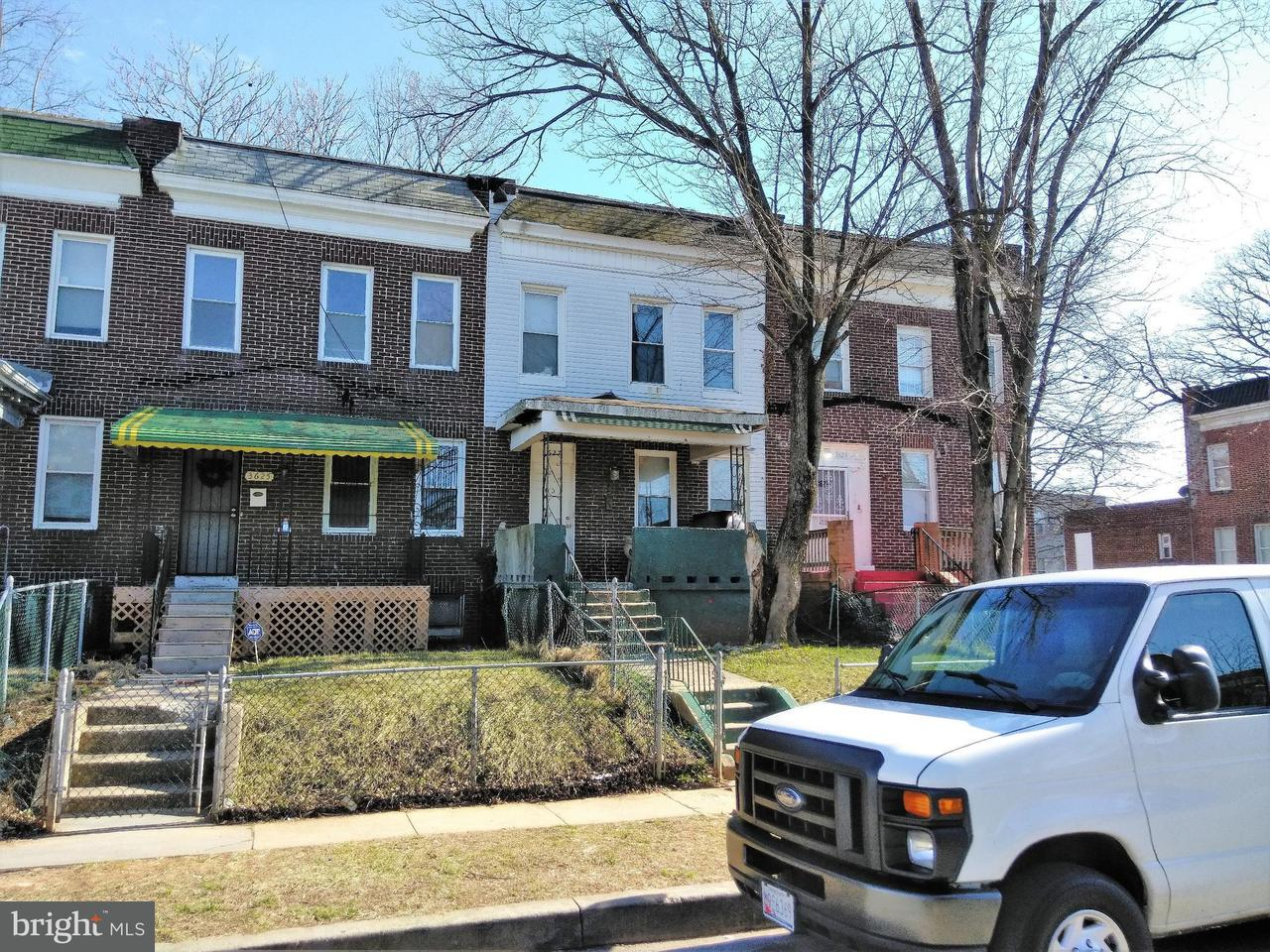 Single Family for Sale at 3627 Garrison Ave W Baltimore, Maryland 21215 United States