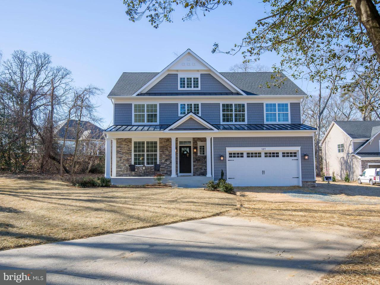 Single Family Home for Sale at 127 Truck House Road 127 Truck House Road Severna Park, Maryland 21146 United States