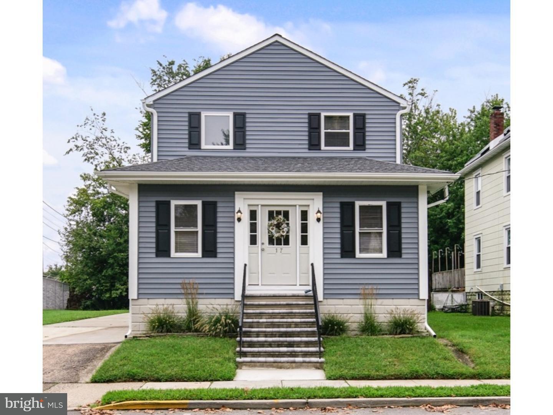 Maison unifamiliale pour l Vente à 17 CHESTNUT Avenue Haddon Township, New Jersey 08108 États-Unis