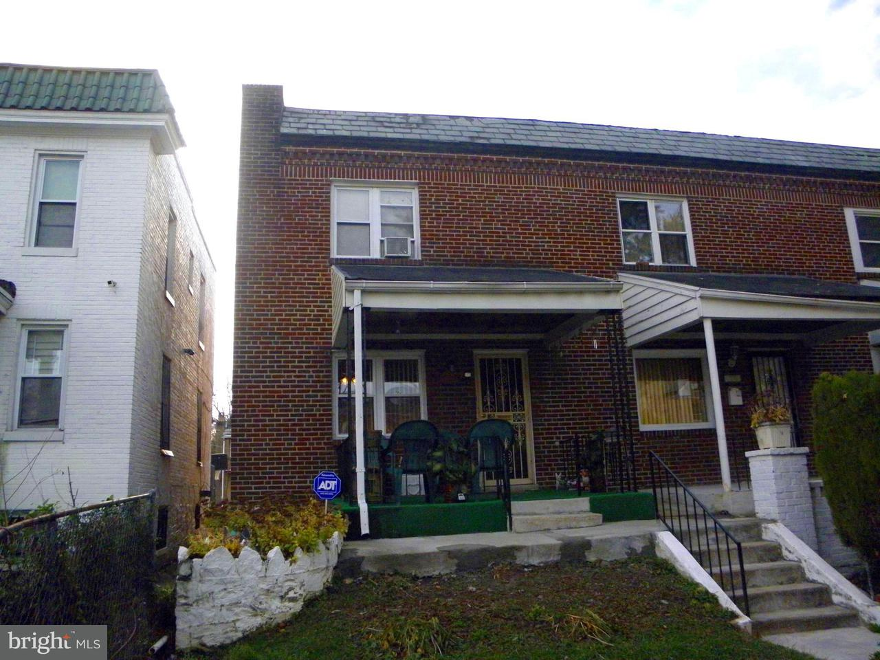 Single Family for Sale at 5214 Cuthbert Ave Baltimore, Maryland 21215 United States