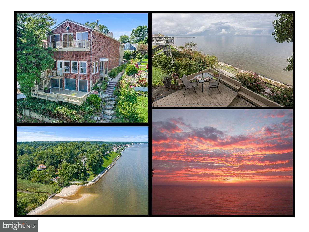 Maison unifamiliale pour l Vente à 7603 B Street 7603 B Street Chesapeake Beach, Maryland 20732 États-Unis
