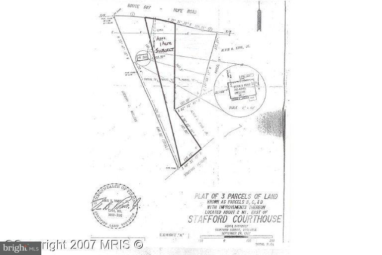 Land for Sale at 566 Hope Rd Stafford, Virginia 22554 United States