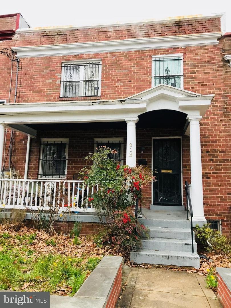 Single Family for Sale at 413 Longfellow St NW Washington, District Of Columbia 20011 United States