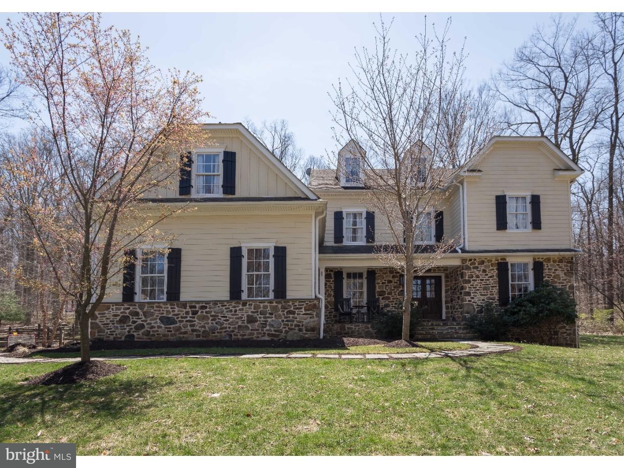 Maison unifamiliale pour l Vente à 67 LYONS RUN Road Glenmoore, Pennsylvanie 19343 États-Unis