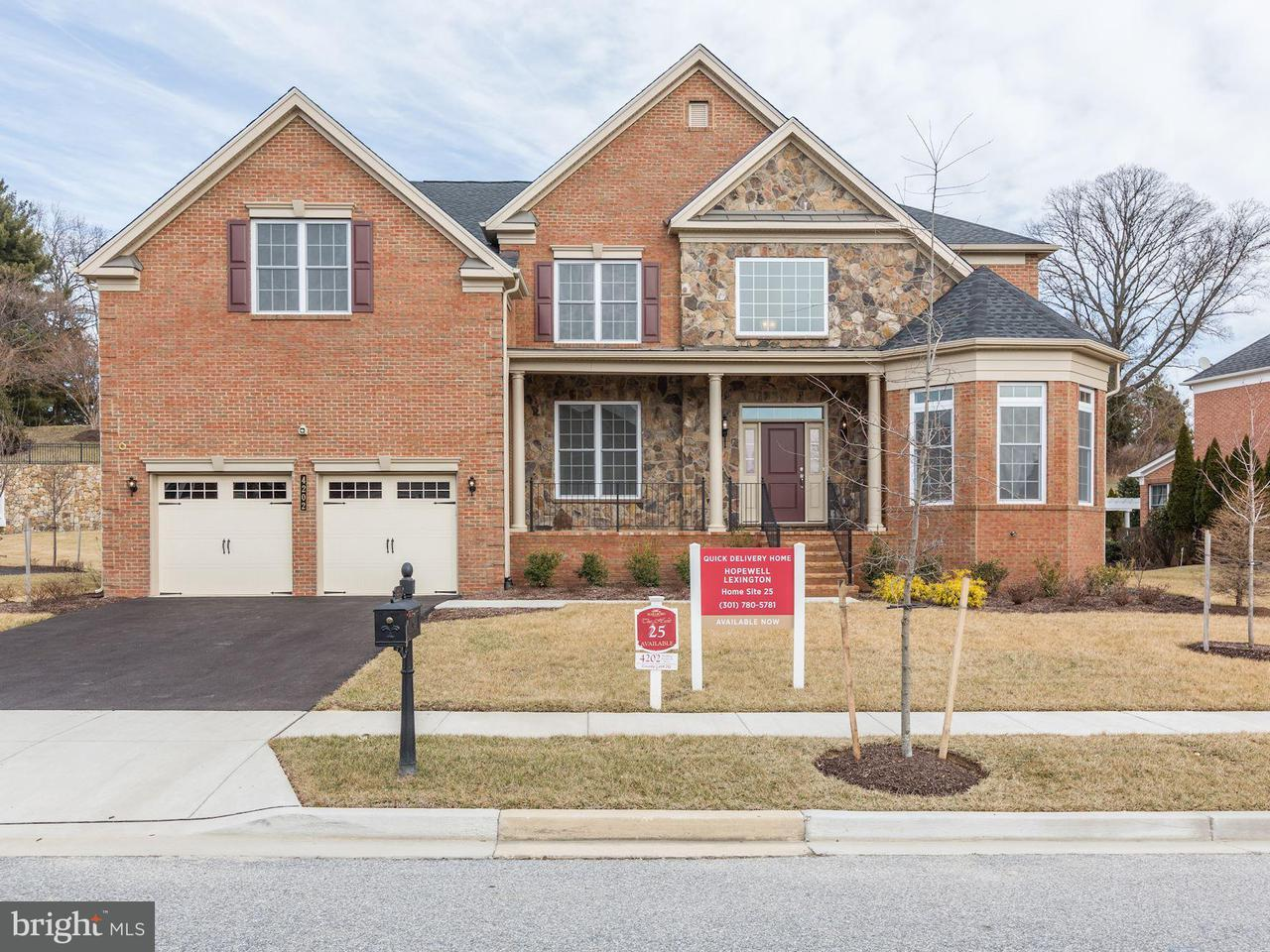 Photo of home for sale at 4202 Rolling Paddock Drive, Upper Marlboro MD