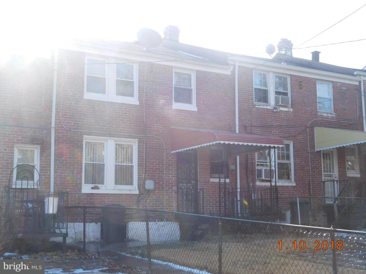 Single Family for Sale at 3016 Hanlon Ave Baltimore, Maryland 21216 United States