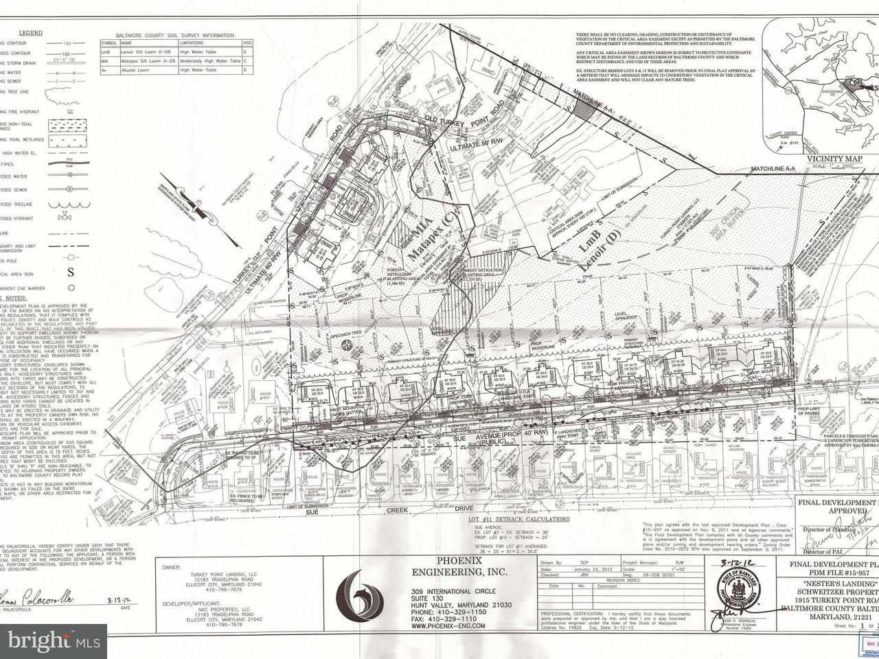 Land for Sale at 1913 Turkey Point Road 1913 Turkey Point Road Essex, Maryland 21221 United States