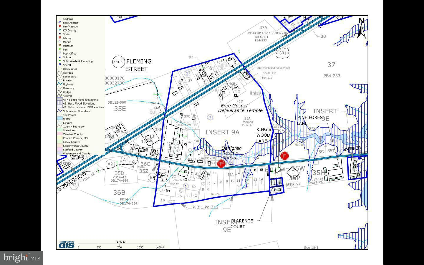 Land for Sale at Not On File King George, Virginia 22485 United States