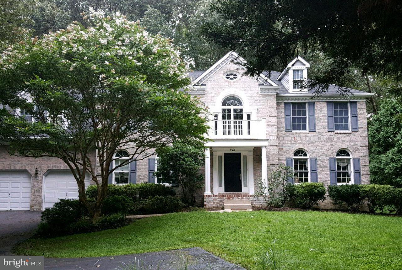 獨棟家庭住宅 為 出售 在 248 Finnegan Drive 248 Finnegan Drive Millersville, 馬里蘭州 21108 美國