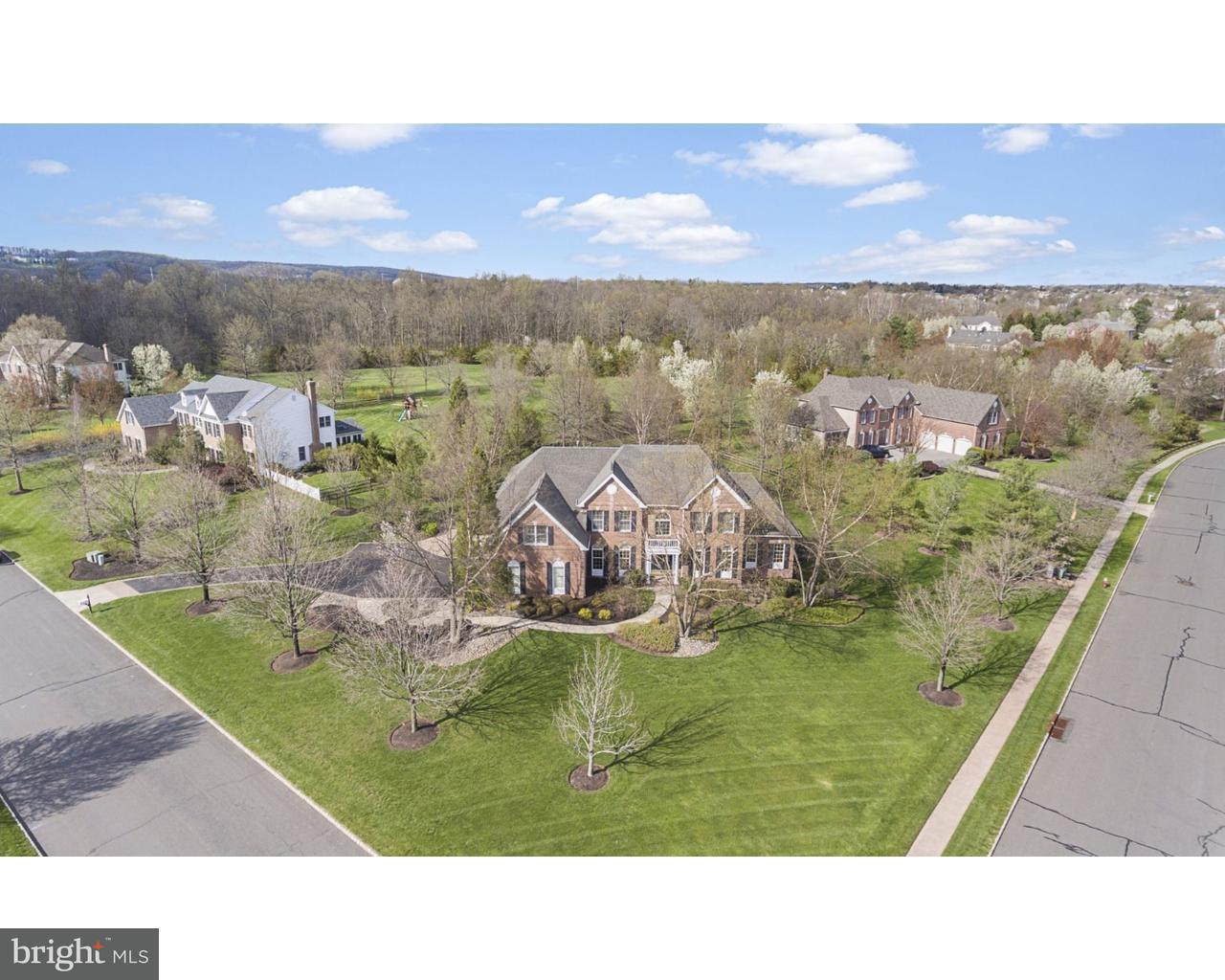Einfamilienhaus für Verkauf beim 3 HUNTERS PATH Blawenburg, New Jersey 08558 Vereinigte StaatenIn/Rund um: Montgomery Township
