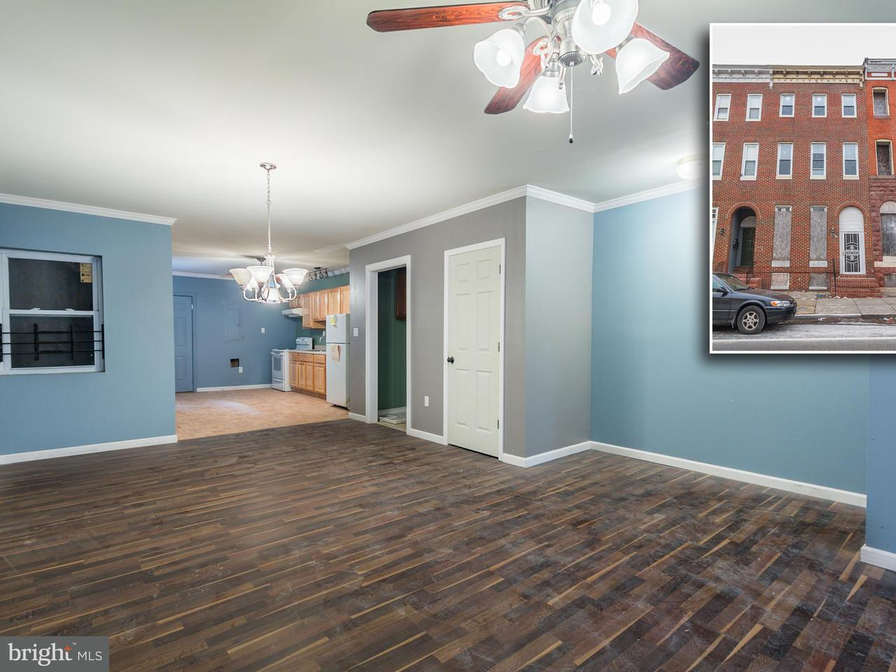 Other Residential for Sale at 1704 Mcculloh St Baltimore, Maryland 21217 United States