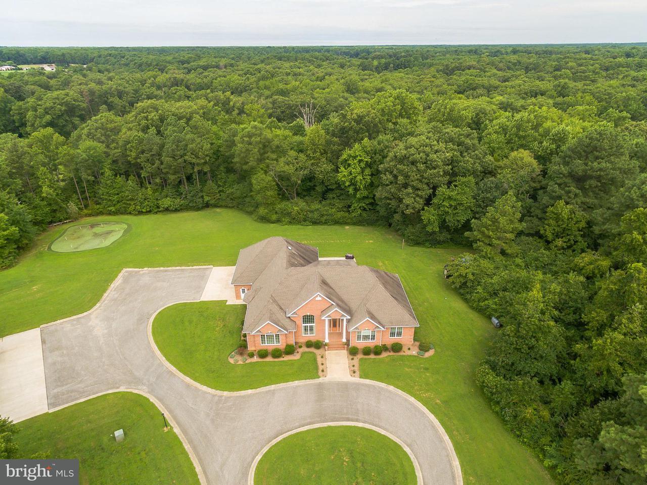 Maison unifamiliale pour l Vente à 20460 Piney Point Road 20460 Piney Point Road Callaway, Maryland 20620 États-Unis