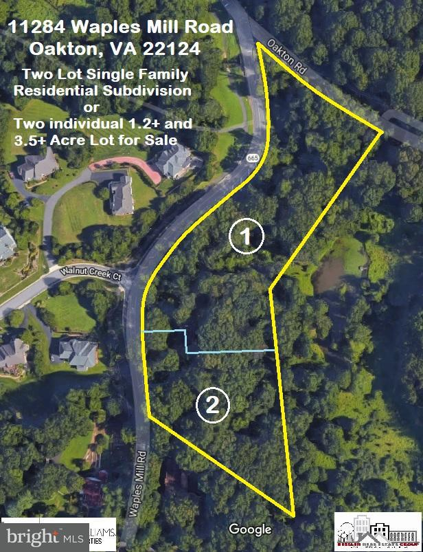 Land for Sale at 11284 Waples Mill Road 11284 Waples Mill Road Oakton, Virginia 22124 United States