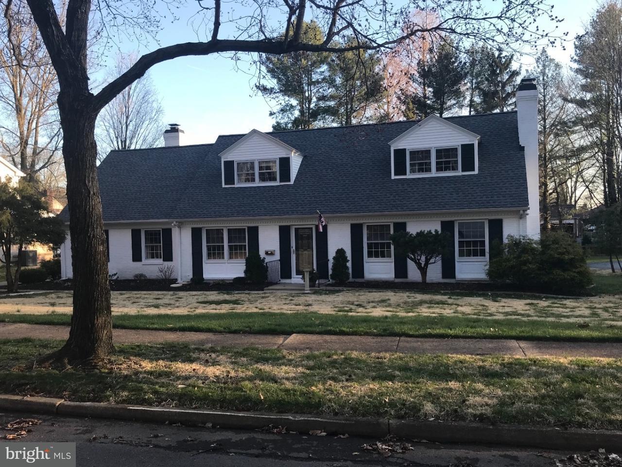 Частный односемейный дом для того Продажа на 538 KERFOOT FARM Road Talleyville, Делавэр 19803 Соединенные Штаты