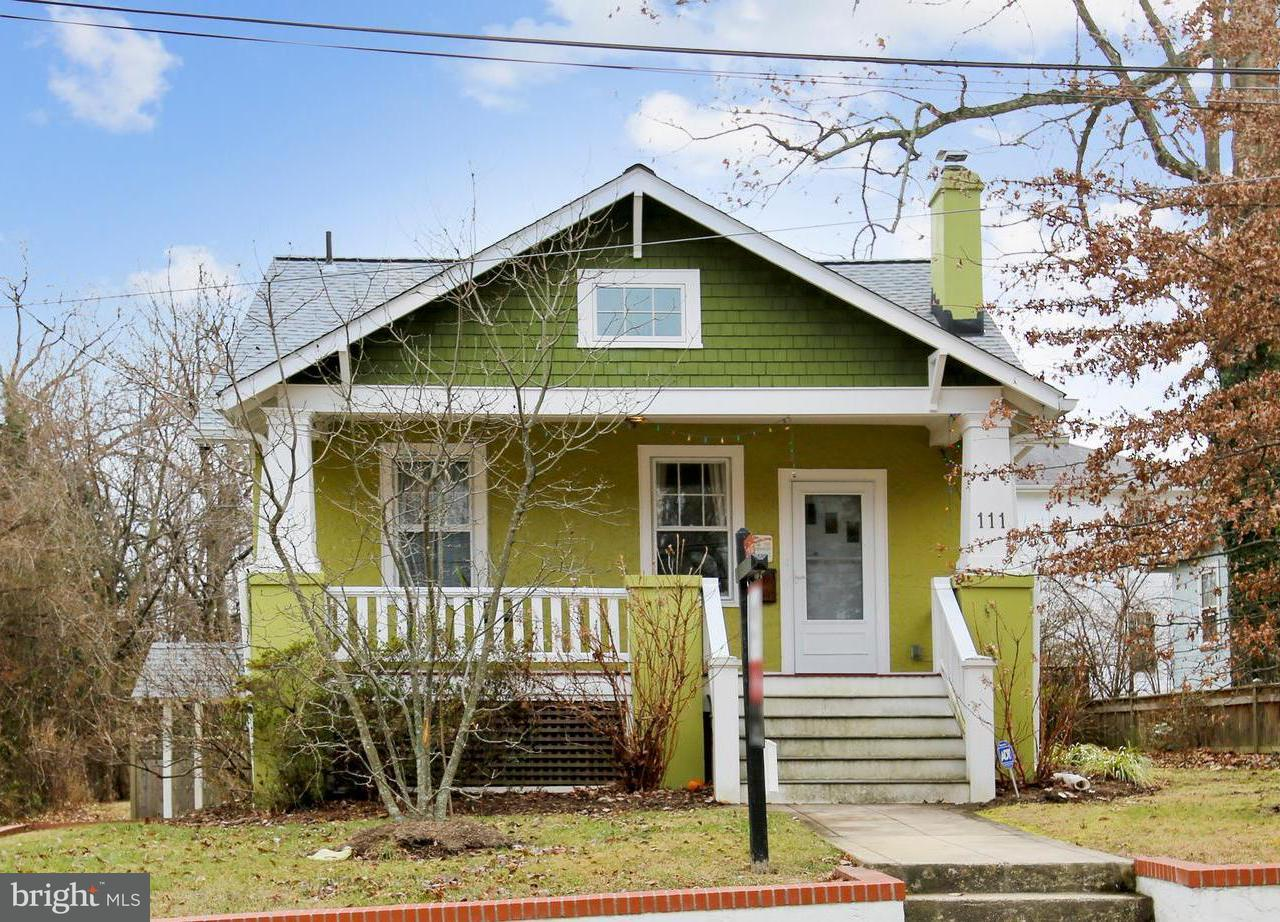 Single Family Home for Sale at 111 Elm Avenue 111 Elm Avenue Takoma Park, Maryland 20912 United States