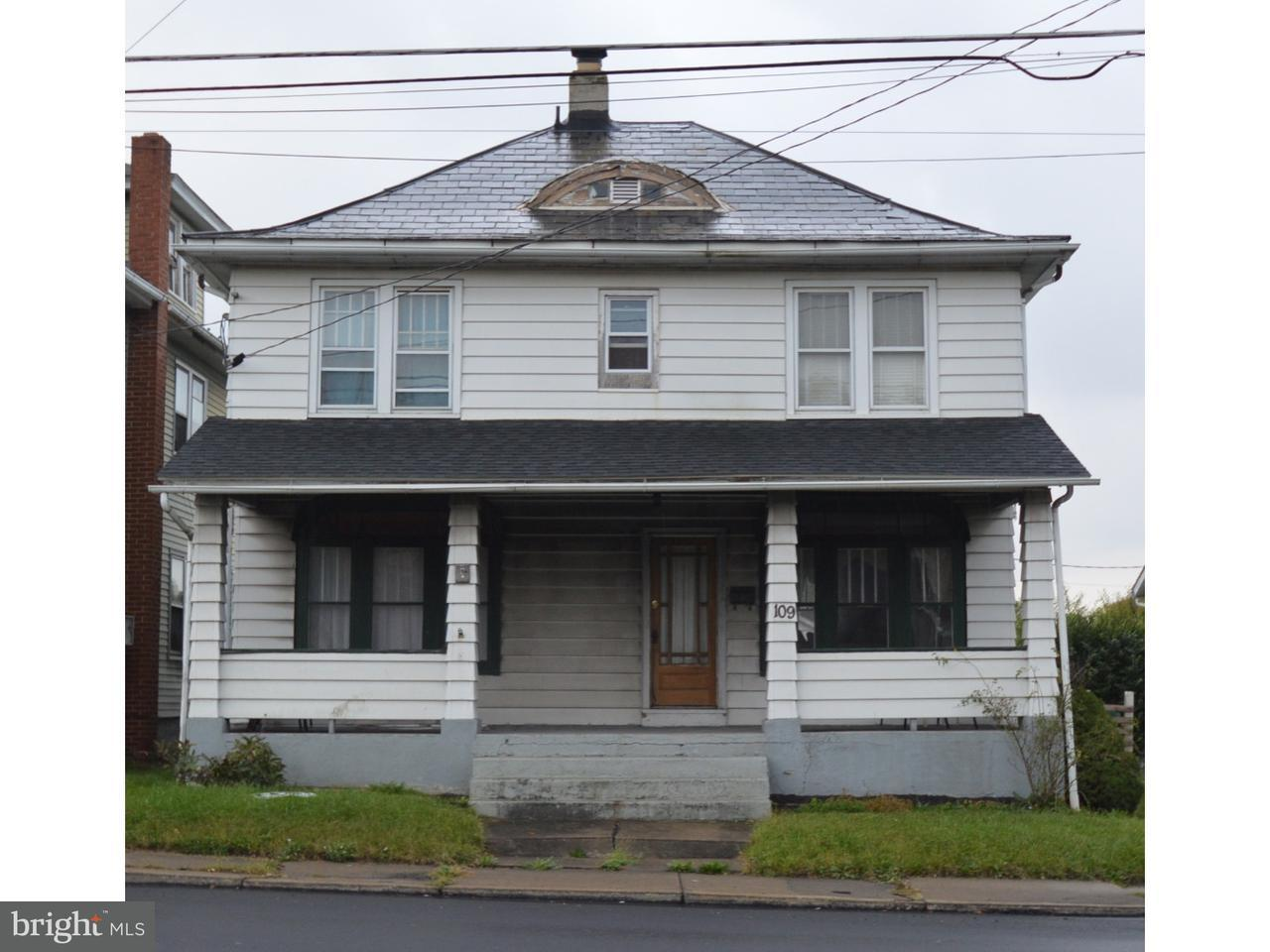 Single Family Home for Sale at 109 N LEHIGH Avenue Wind Gap, Pennsylvania 18091 United States