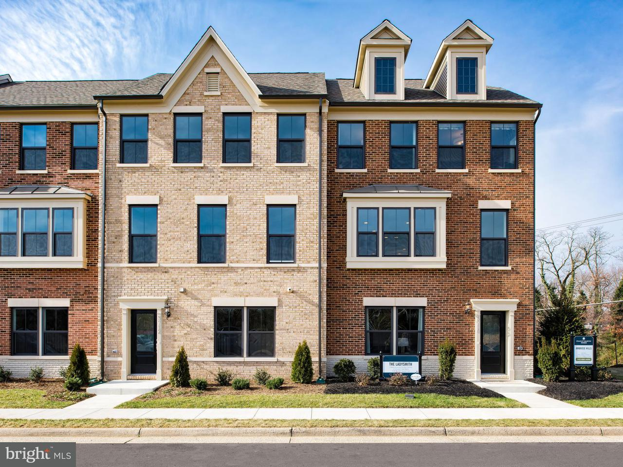 Townhouse for Sale at 3753 Signal Knob Court 3753 Signal Knob Court Falls Church, Virginia 22041 United States