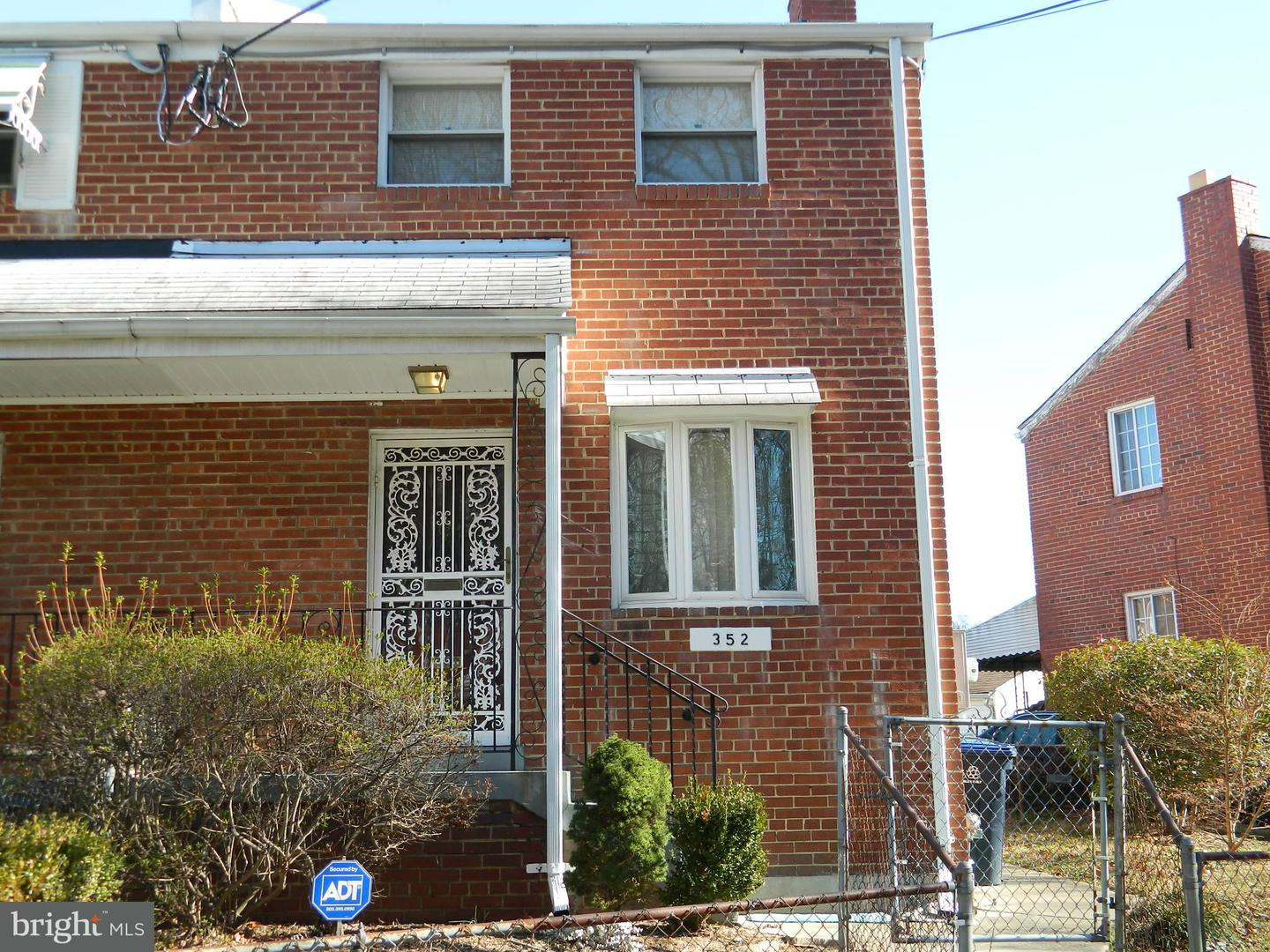 Single Family for Sale at 352 Burbank St SE Washington, District Of Columbia 20019 United States