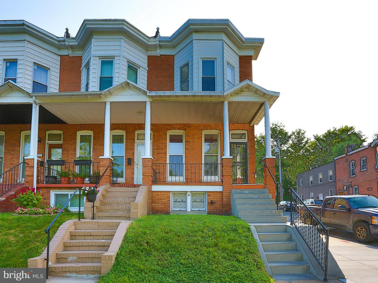 Single Family for Sale at 357 Yale Ave Baltimore, Maryland 21229 United States