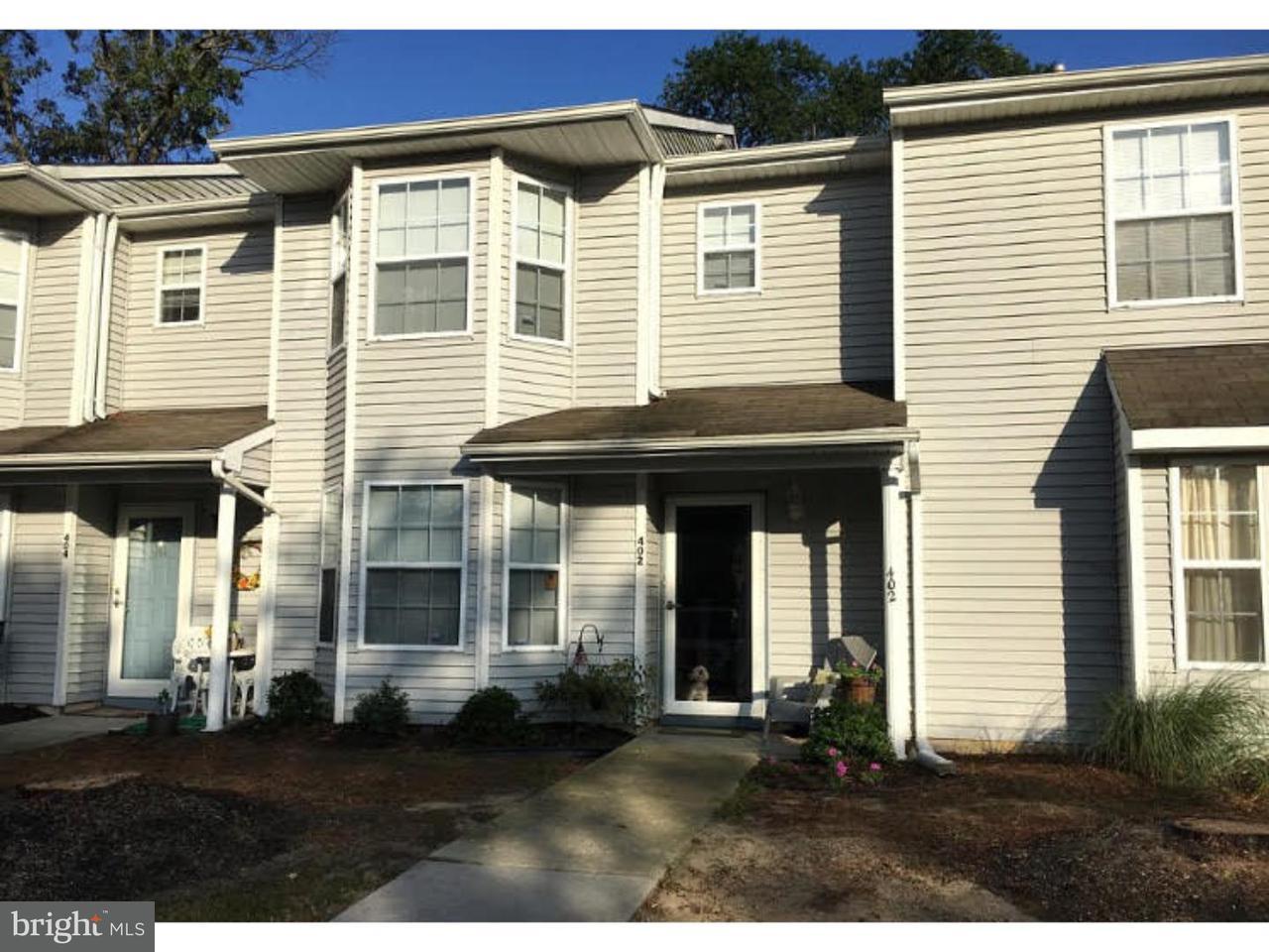 Casa unifamiliar adosada (Townhouse) por un Alquiler en 402 ACCOLON Court Mantua, Nueva Jersey 08051 Estados Unidos