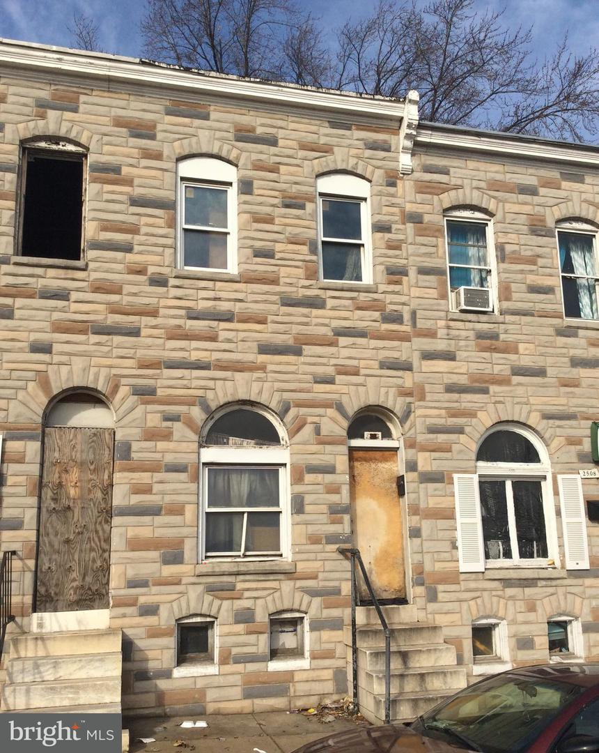 Single Family for Sale at 2510 Frederick Ave Baltimore, Maryland 21223 United States