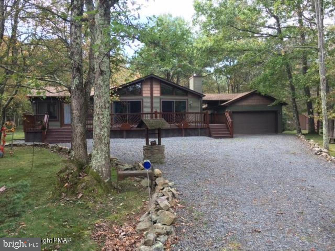 Casa Unifamiliar por un Venta en 55 KEATS Lane Albrightsville, Pennsylvania 18210 Estados Unidos